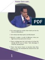 Pastor Chris Quotes Collection