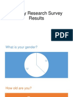 Primary Research Survey Results