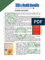 Super Oxide Dismutase facts