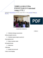 Metode Pembelajaran Pkn Dengan Menggunakan Contextual Teaching Learning