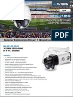 Avtron Mini Speed Dome Camera Am Cd127 On10 PDF
