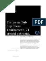 2013 European Club Cup Chess Tournament