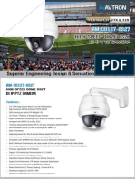 Avtron High Speed Dome Camera AM-CD1127-OS27-PDF