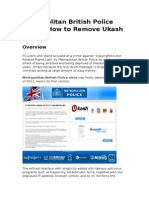 Metropolitan British Police Virus – How to Remove Ukash Virus