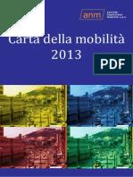Carta Mobilità Anm 2013