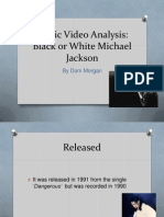 Music Video Analysis MJ
