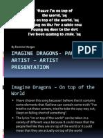 Imagine Dragons- Paul Zizka