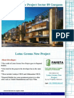 Lotus Greens New Project Price list Call @ 09999536147 In Gurgaon