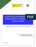 La Evolución de la Adolescencia Española sobre la Igualdad y la Prevención de la Violencia de Género