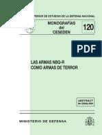 120 Las Armas Nbq-r Como Armas de Terror