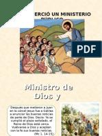 Jesus ejerció un ministerio público