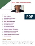 Philosophy, Tarnas and Postmodernism (Shephard)