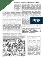 Au Pérou tuerie des indigènes - corrigé