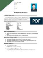 Shahzain New c.v(1)