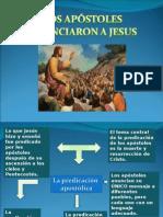 Los Apostoles ron a Jesus