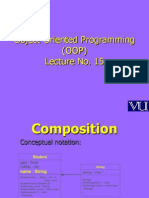Object Oriented Programming (OOP) - CS304 Power Point Slides Lecture 15