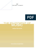 The Enjoyment of Music Shorter Tenth Edition