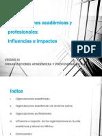 organizaciones académicas y profesionales 3.1