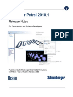 Ocean for Petrel 2010.1 ReleaseNotes