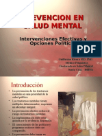 prevencion en salud mental
