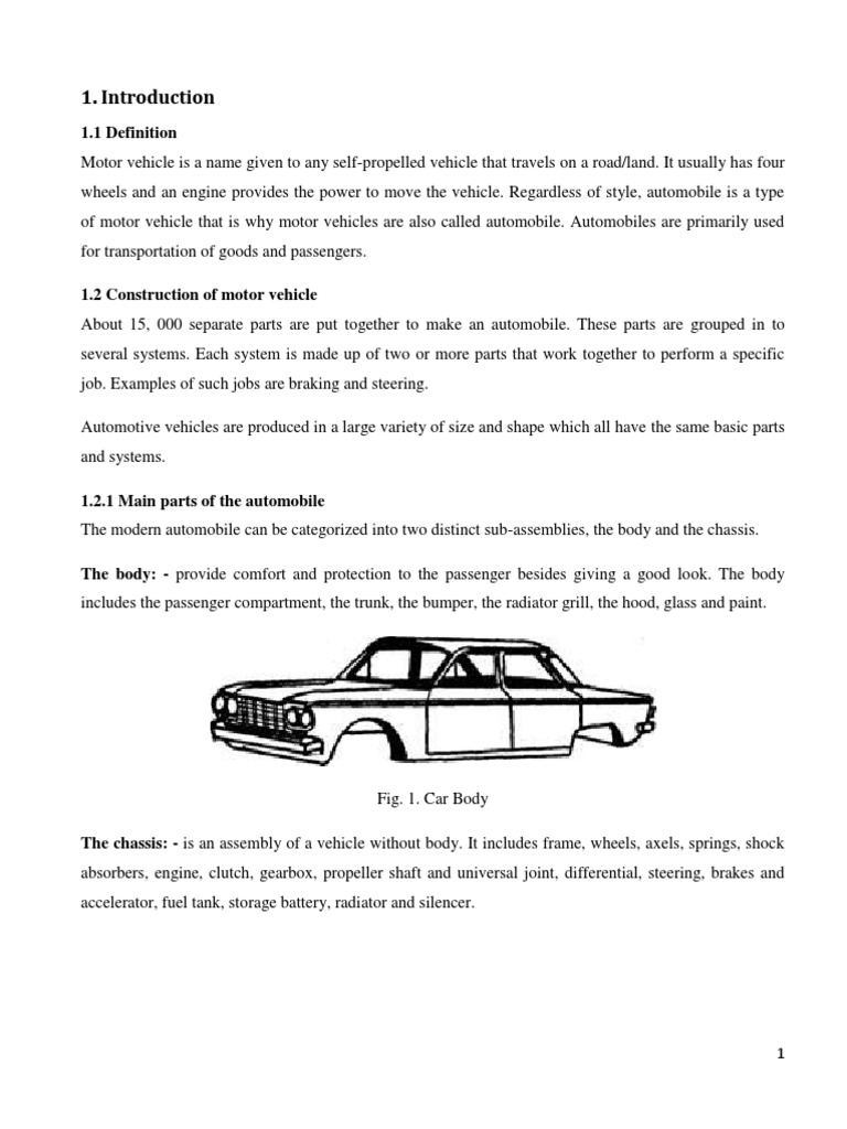 Mve Chap 1 Introduction Transmission Mechanics Car