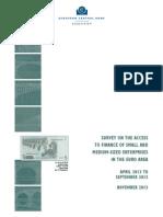 Encuesta sobre acceso a la financiación de las Pequeñas y Medianas empresas en el ÁreaEuro