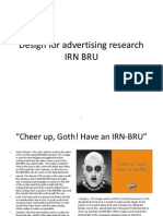 IRN BRU Advertisment Reasearch