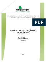 Manual de Utilizacao Do Moodle 1.9 - Manual Do Aluno -Versao 1