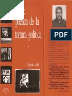 Vidal Hernan - Chile Poetica de La Tortura Politica