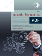 Industrial Engineering, MSc - Donau-Universität Krems