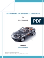 Be-Automobile Lab Manual
