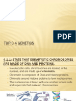 topic 4 genetics