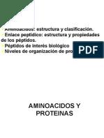 Clase 1s 3 - Proteinas y Aminoacidos