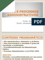 Atos e Processos Administrativos