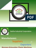 Biomass Briquette Manufacturers & Exporters India