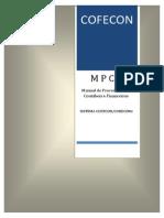 Manual Procedimentos Contabeis e Finaceiros