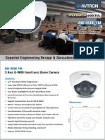 Avtron Dome CCTV Camera AM-H606-FM