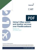 Using C-Map Over FleetBroadband