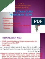 Sahsiah Guru p.islam