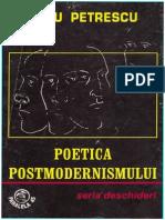 Poetica Posmodernismului - Liviu Petrescu