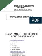 Levant. Topog. por Triangulación