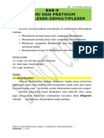 Bab 9 Teori Dan Prpraktikumatikum Multiplexer Dan Demultiplexer