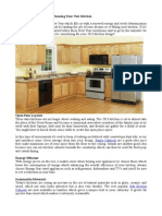 Things to Consider When Planning Your New Kitchen
