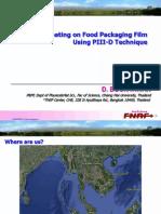 DLC Coating on Food Packaging Film Using PIII-D Technique