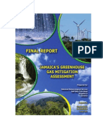 Jamaica's Greenhouse GAs Mitigation Assessment, January 2010