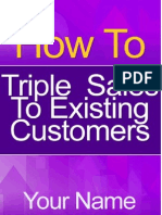 62673983 How to Triple Sales to Existing Customers