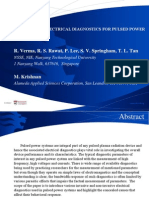 Electrical Diagnostics for Pulsed Power