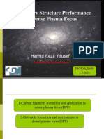 Filamentary Structure Performance in Dense Plasma Focus