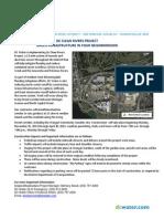 DC Water Irving Street Green Infrastructure Project-Door Hanger and Public Meeting Notice 2013 11