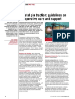 030527Skeletal Pin Traction Guidelines on Postoperative Care and Support